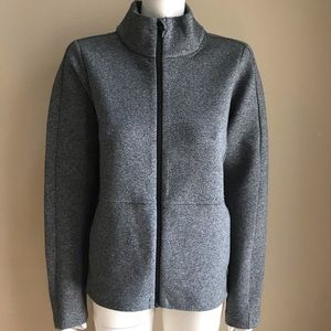 Lululemon going places jacket space dye gray 10